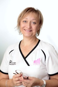 Dr. Merike Immato, CEO of the clinic