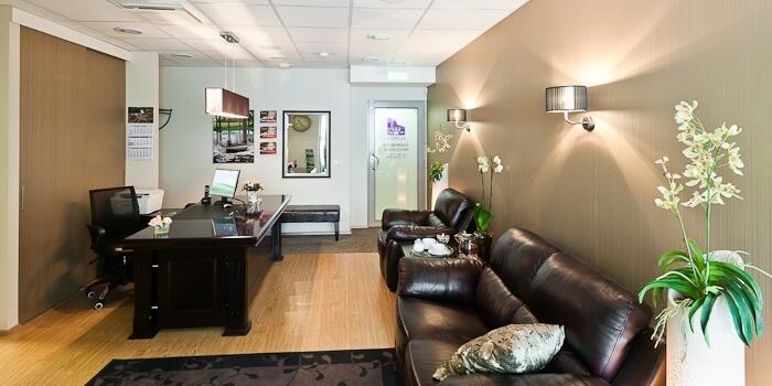 Lumen Dental Clinic waiting room