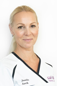 Jaanika Aavik, Медсестра / ассистент